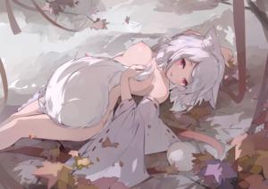 Rating: Explicit Score: 0 Tags: inubashiri_momiji 犬走椛 white_hair red_eyes User: tvkdm