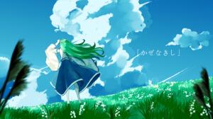 Rating: Safe Score: 0 Tags: kochiya_sanae 東風谷早苗 green_hair User: tvkdm